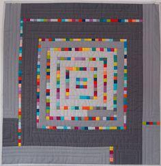 Sara Kelly Art Quilts: Gray Study