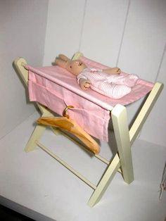 MAILEG skötbord med baby kanin mini på Tradera.com - Dockor till