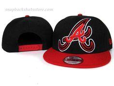MLB Atlanta Braves Adjustable Fit Snapback Hat PH072