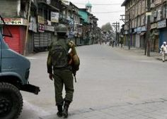 Normal life in some parts of the Valley was disrupted today due to a strike called by hardline Hurriyat Conference in protest against the Jammu and Kashmir High Court judgement in the Mohammad Qasim Faktoo case.