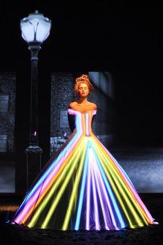 Fluo dress - Frank Sorbier