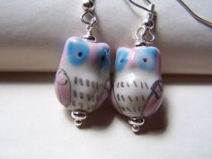 Hey, I found this really awesome Etsy listing at https://www.etsy.com/listing/63887093/owl-jewelry-girls-owl-earrings-cute