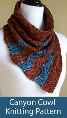 knitting cowl / Knitting And Crocheting ~ knitting for beginners Sport Weight Yarn, Dk Weight Yarn, Knit Cowl, Knit Crochet, Knitted Cowls, Knitting Projects, Knitting Ideas, Yarn Projects, Ombre Yarn