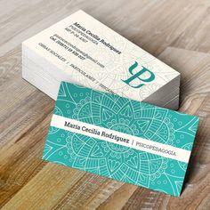 2016 / PSICOPEDGOGA / Tarjetas Personales 85 x 50 mm / Impresión Offset / Acabado OPP Mate / #tarjetasdepresentacion #tarjetaspersonales #businesscard #diseñografico #graphicdesign #stationery #printing
