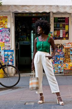 Black Women Fashion, Look Fashion, Indian Fashion, Womens Fashion, Fashion Tips, Summer Chic, Spring Summer Fashion, Moda Afro, Looks Cool