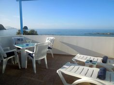 Villa Blue Eden || Just metres from the beach, Villa Blue Eden is a self-catering accommodation located in Appolonia. It offers unobstructed Aegean Sea views from its balcony, while free WiFi access is available.