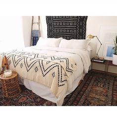 Anthro style bedroom
