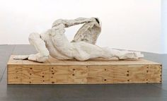 THOMAS HOUSEAGO, RECLINING FIGURE (FOR ROME) 2013.