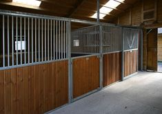 Metal Internals Equestrian Stables, Horse Stables, Horse Barns, Horses, Cow Pen, American Barn, Dream Barn, Country Homes, Horse Stuff