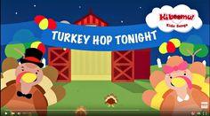 Do The Turkey Hop | Turkey Hop Song | Preschool Songs | The Kiboomers