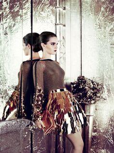 Emma Watson, Pret-a-Porter, Mario Testino, world of glass
