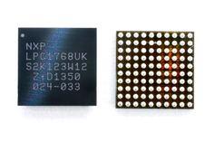LPC1768UK. ARM-Cortex-M3 base MCU. 5x5mm size CSP 100pins