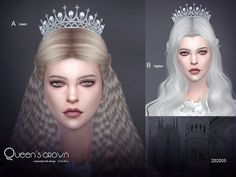 The queen's crown, hope you like, thank you. Found in TSR Category 'Sims 4 Female Hats' Sims 4 Teen, My Sims, Sims Cc, Sims 4 Game Mods, Sims Mods, Sims 4 Piercings, Sims Medieval, The Sims 4 Packs, Sims 4 Characters