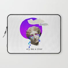 cry me a river Laptop Sleeve by Gl♞t€h - $36.00 hype