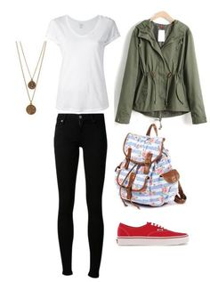 #casual #outfit #late #spring. School Outfits TumblrUni ...