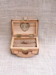Personalized Wedding Ring Box,  Beach Wedding, Summer Wedding, Rustic Wedding on Etsy, $22.00