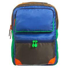 Stella McCartney Kids Water Repellent Colour-Block Backpack (36cm) at  Childrensalon.com 80a0a95f9455d