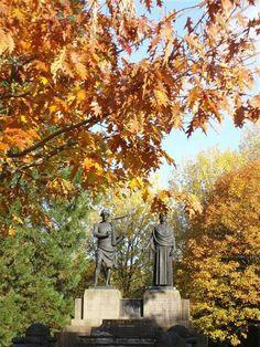 James James and Evan James.  Ponty park.