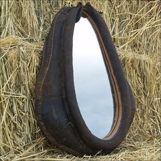 Authentic Horse collar With Mirror 4 rustic by FadedCharmDecor