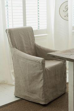 Linen armchair Riviera Maison