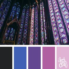 Blue and purple color inspo | 25 color palettes inspired by the PANTONE color trend predictions for Spring 2018 - Use these color schemes as inspiration for your next colorful project! Check out more color schemes at www.sarahrenaeclark.com #color #colorpalette