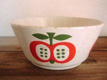 Süsse Äpfel Schüssel von Wächtersbach, 70er Jahre