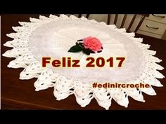 ❤Left Handed Crochet | Tapete de Croche | Aprender Crochê Canhotas | Par...