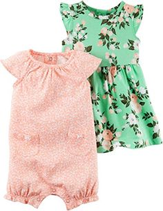 Carters Baby Girls 3Piece Set Dress and Bottoms 12 Months *** Read more  at the image link.Note:It is affiliate link to Amazon.
