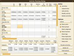 FET is open source free software for automatically scheduling the timetable of a school, high-school or university. It uses a fast and efficient timetabling algorithm. It is licensed under GNU GPL.