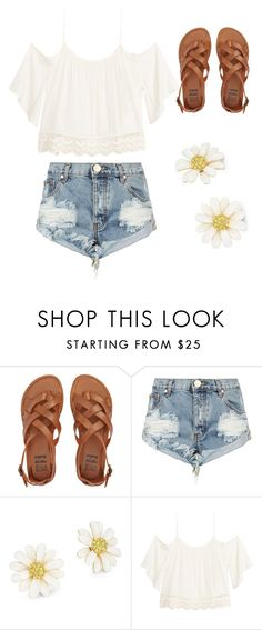 """Summer"" by classy221 ❤ liked on Polyvore featuring Billabong, One Teaspoon, Kate Spade and H&M"