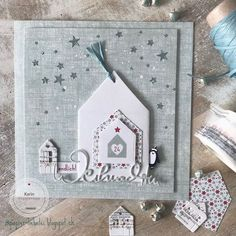 Christmas Bird, Christmas Cards To Make, Xmas Cards, Handmade Christmas, Holiday Cards, Christmas Crafts, Handmade Tags, Scrapbook Cards, Scrapbooking