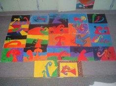 Art Unit for Year 6 children. Children use pastels to create a kowhaiwhai family portrait. Student Teaching, Teaching Art, Teaching Resources, Teaching Ideas, Primary School Art, Art School, School Ideas, Warm And Cold Colours, Learning Objectives