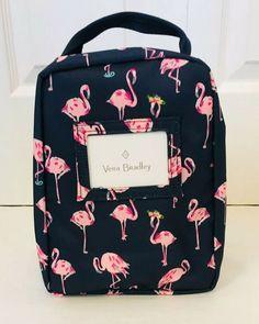 fa9e5fb6a0a Vera Bradley Lunch Bunch Insulated Lunch Bag Flamingo Fiesta NWT $34