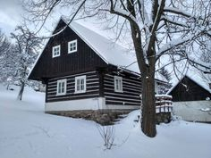 Chata Jiřina, ubytování Dolní Rokytnice Krkonoše - ID 5149 Home Fashion, Cottage, Cabin, House Styles, Home Decor, Decoration Home, Room Decor, Cottages, Cabins