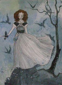 black birds by ~AnnWeaver on deviantART