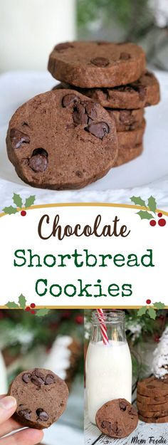 Double Chocolate Shortbread Cookies Recipe