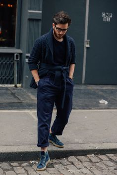 Zoom sur les meilleurs looks de rue pris sur le vif par Jonathan Daniel Pryce à la sortie des défilés homme automne-hiver 2016-2017 à New York