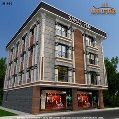 Cubist Architecture, Islamic Architecture, Architecture Design, House Plans Mansion, Front Elevation Designs, Student House, Commercial Design, House Front, Exterior Design