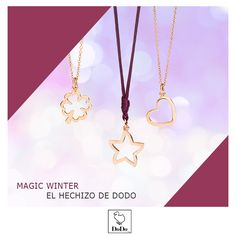 ¡No te pierdas los must-have del invierno! Los nuevos charms Silueta de Dodo Jewels, en oro rosa o plata, iluminarán todos tus deseos. Es el momento de regalarse un pequeño sueño. #DodoCharms #MagicWinter #DodoJewels