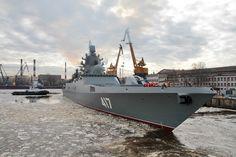 Advanced Russian Navy frigate Admiral Gorshkov starts final state trials