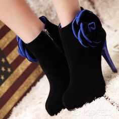 95b823bed5541 Ericdress deals in high heel boots for women like those cheap high heels  boots. We invite you to buy high heel boots like black   brown womens high  heel ...