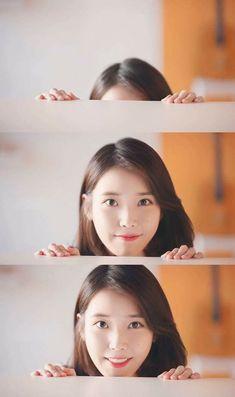 Korean Model, Korean Singer, Korean Bangs, Iu Twitter, Evening Primrose, Korean Actresses, Korean Celebrities, Blue Aesthetic, Korean Beauty