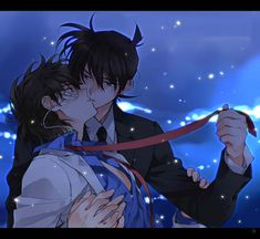 shinichi love kaito by topsykretz21 on DeviantArt