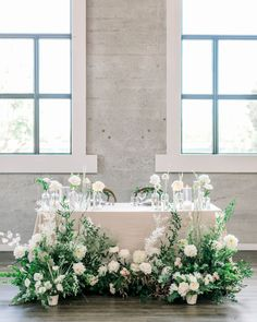 Upscale and Stylish So-Cal Wedding Venue -The 1912 Wedding Top Table Flowers, Head Table Wedding Decorations, Wedding Chairs, Decoration Table, Wedding Table, Floral Wedding, Modern Wedding Reception, Romantic Wedding Receptions, Wedding Ceremony Backdrop