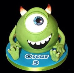Monsters University Cake