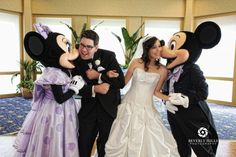 I want Mickey and Minnie at my wedding.