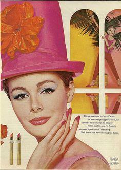 Max Factor Divine Madness 1963