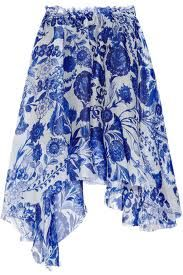 Rodarte printed skirt