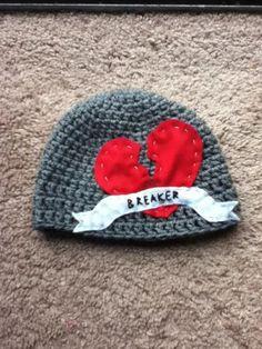 Handmade Crochet Baby Newborn Heart Breaker by CathysCreationsNC, $20.00
