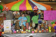 Candy bar at Relay for Life